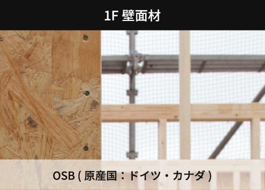 1F壁面材