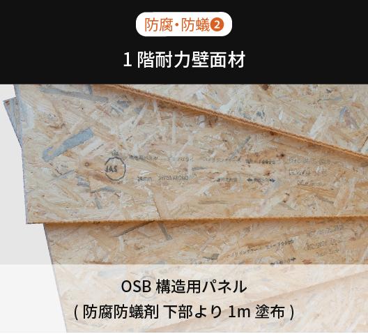 1F壁枠組材・床組材