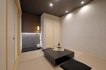 「現代的」な畳空間の提案。