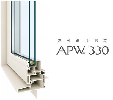 高性能樹脂窓 APW330