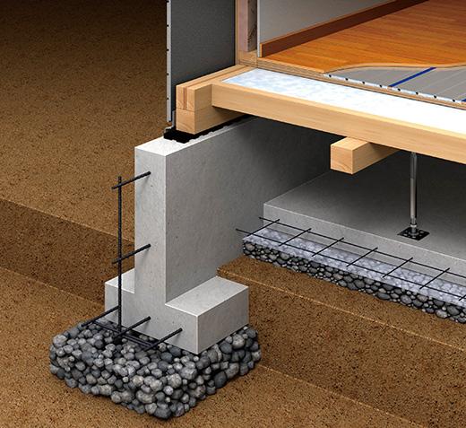 暖まるのが早い安全性の高い床暖房システム