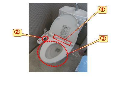温水洗浄便座のシャワー洗浄が出来ない時の対処法