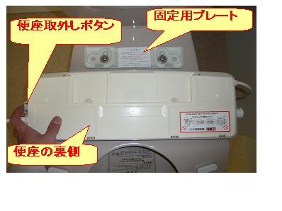 ウォシュレットや温水洗浄便座のガタつきが気になる?