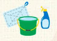 意外と知らない?「洗う・拭く・こする」の正しいお掃除方法
