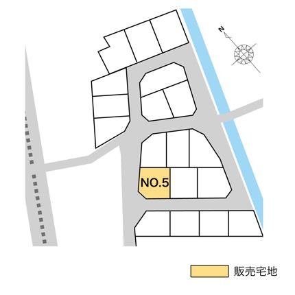高岡市フロントタウン荻布販売宅地【建築条件なし】