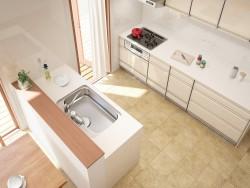 キッチンの配置を考えよう。一般的な最新レイアウトの特長を紹介!I型、II型、L型、アイランド型。