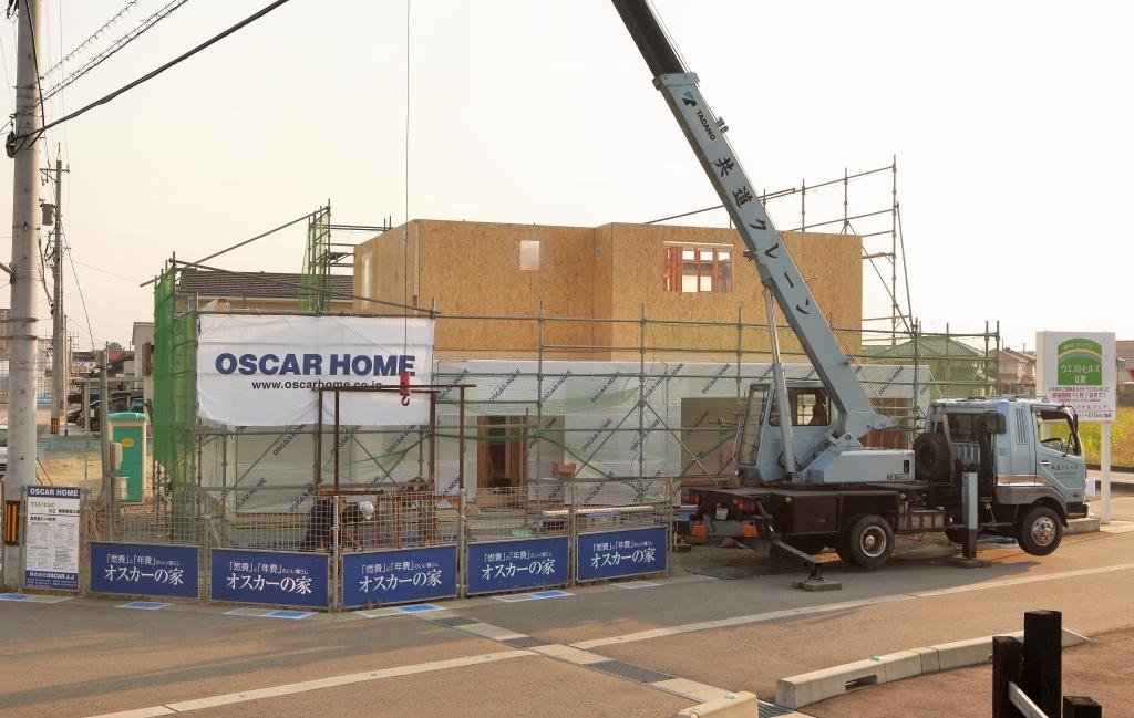 オスカーホーム建て方2