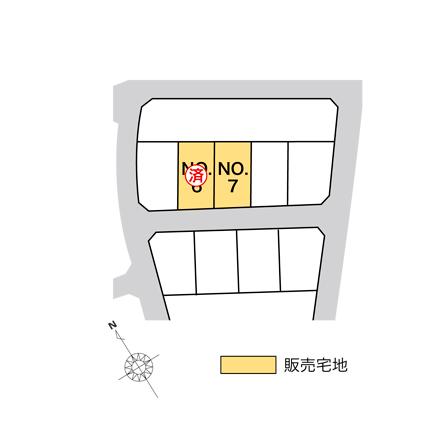 富山市窪本町 販売宅地【建築条件なし】