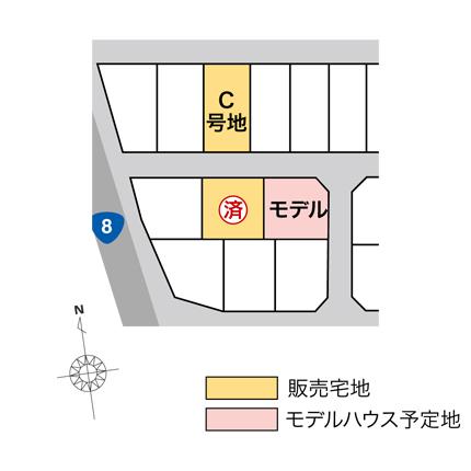 津幡町中橋 販売宅地【建築条件付】