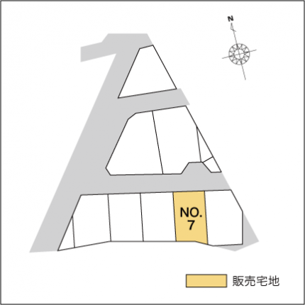 富山市荒川ミニタウン 販売宅地【建築条件付】