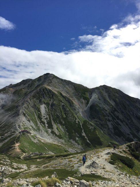 浄土山から立山雄山