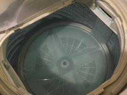 年末年始のお掃除!洗濯槽を掃除してみました。
