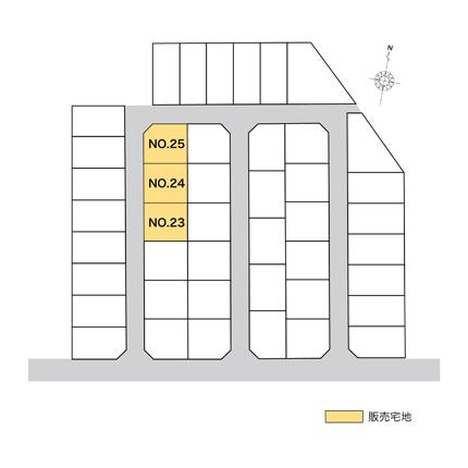 野々市市清金2丁目 販売宅地【建築条件付】