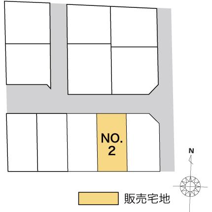 白山市相木町 販売宅地【建築条件付】2