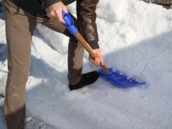 冬の危険!雪かきで気をつけること!