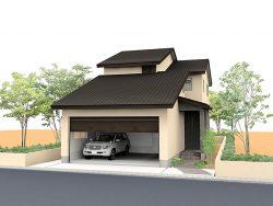 富山市秋吉モデルハウス1