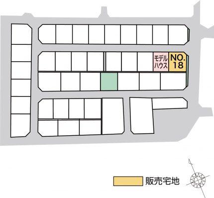 黒部市植木4期(そら色植木) 販売宅地【建築条件付】