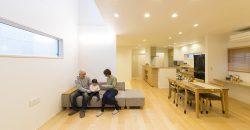 家事動線と収納にこだわった機能的な家