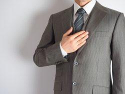 スーツの下取りで安く新調、タンスはスッキリ