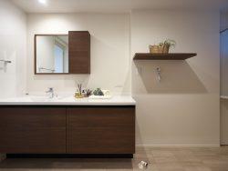 金沢市戸板モデル 洗面室