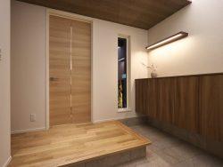 金沢市戸板モデル 玄関