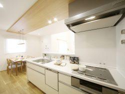 パレットタウンモデルハウス2 キッチン