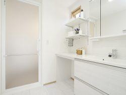 パレットタウンモデルハウス2 洗面室