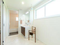 木田モデルハウス4 洗面室