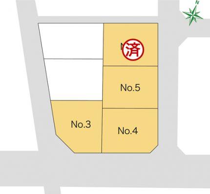 新発田市東新町 4丁目 販売宅地【建築条件付】