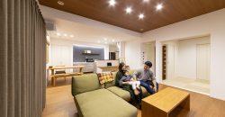 すっきり、ゆったりとした空間の家