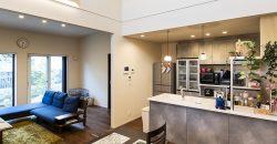高級旅館をイメージする上質な空間が魅力の家の画像