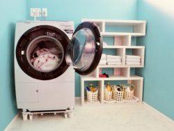 水量や容量を考えて洗濯物をきれいに